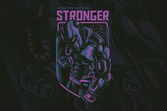 Thumbnail for Stronger T-Shirt Design
