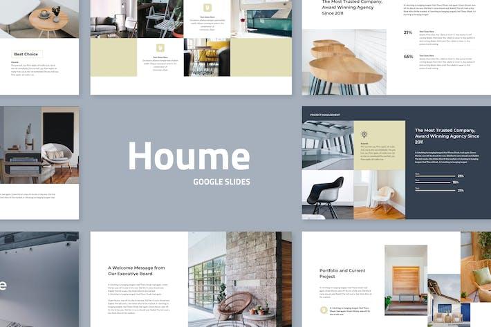 Thumbnail for Houme - Modern Google Slides Template