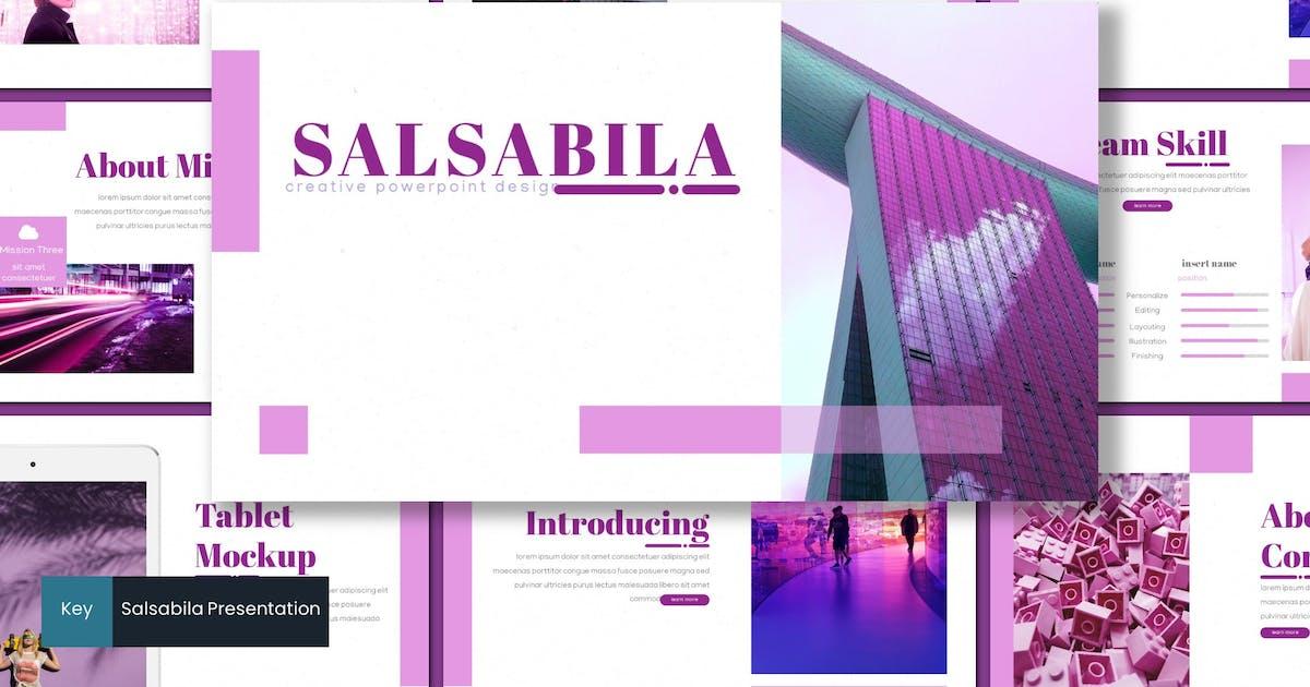 Download Salsabila - Keynote Template by inspirasign