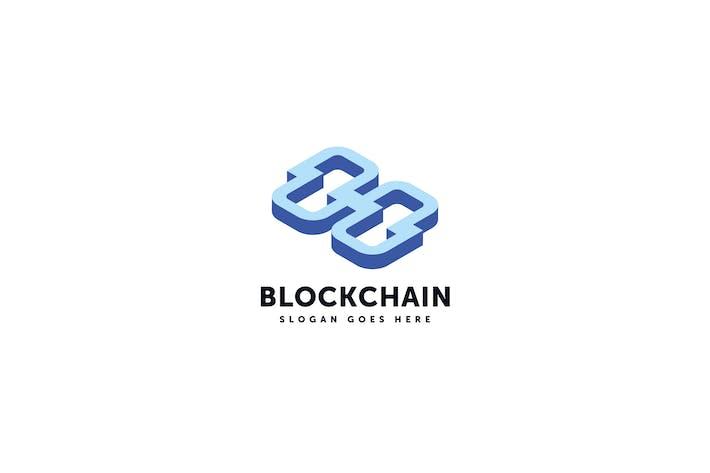 Thumbnail for Modèle de Vecteur de Logo Blockchain