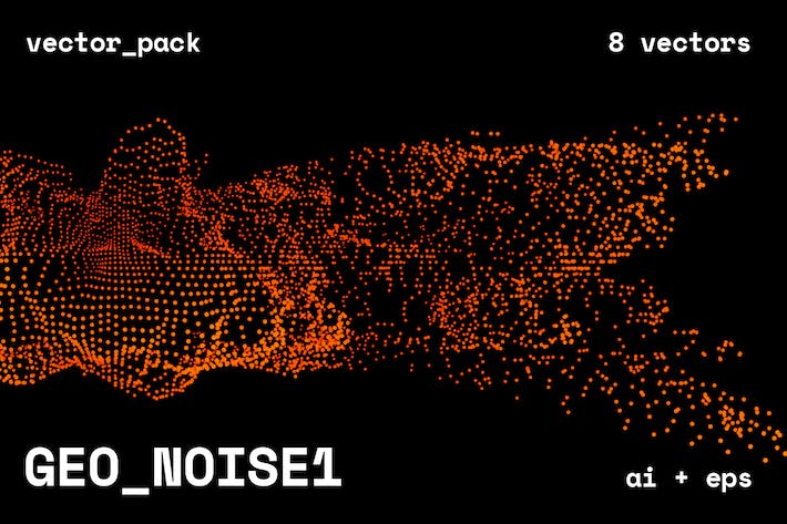 Cover Image For GEO_NOISE1 Vector Pack