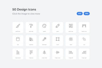 Design icons — Line