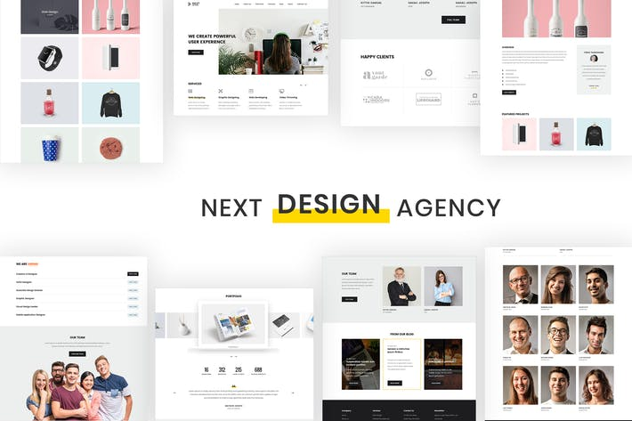 Thumbnail for Digital Studio & Design Agency Portfolio Template
