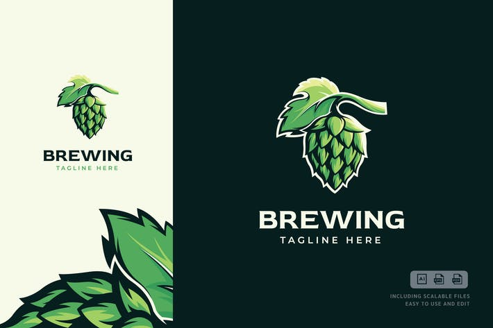 Thumbnail for Brewing Logo Template