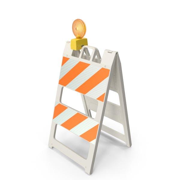 Barricade Warning Light