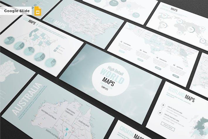 DETAIL MAPS - Google Slide Template V223