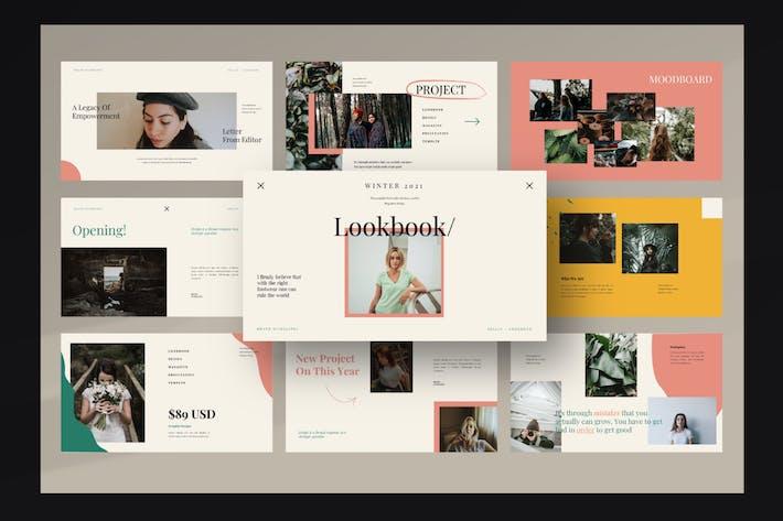 Thumbnail for Шаблон презентации Lookbook