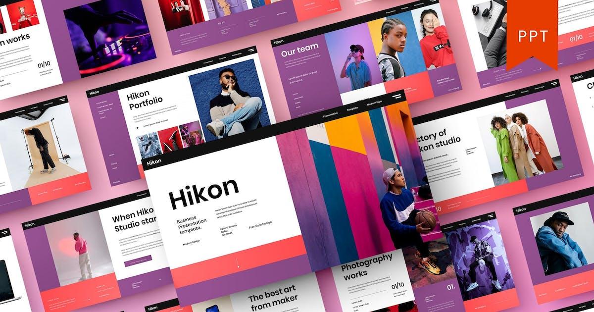 Download Hikon – Business PowerPoint Template by DensCreativeStudio