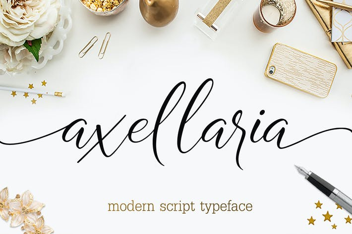 Thumbnail for AXELLARIA MODERN SCRIPT