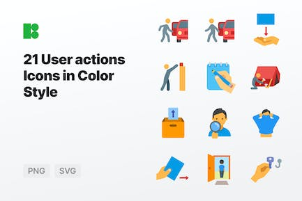 Color - User Actions