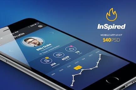 InSpired – Mobile UI Kit