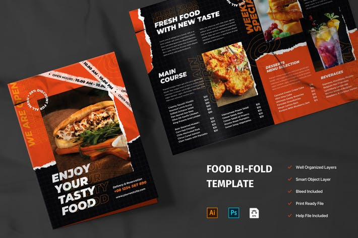 Thumbnail for Food Brochure