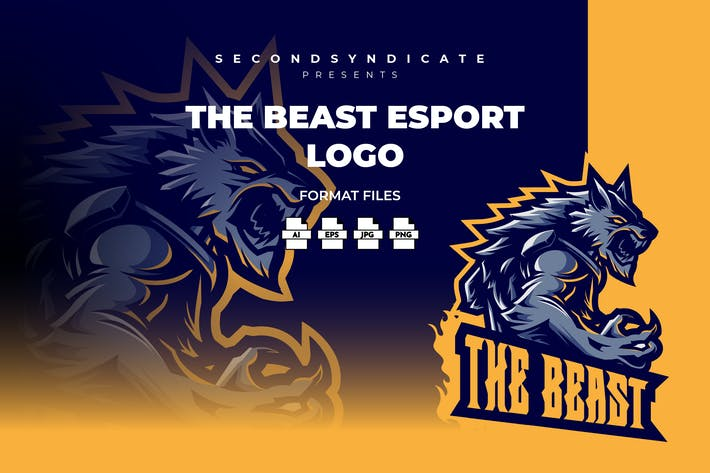 Thumbnail for The Beast Esport Logo