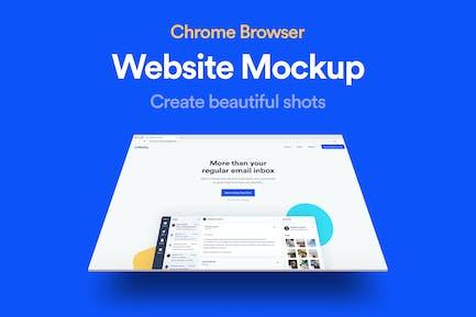 Website Browser Mockup 02