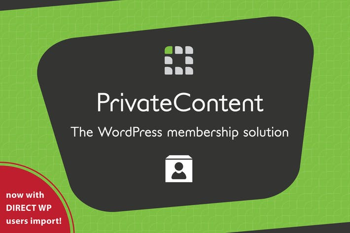 Cover Image For PrivateContent - Multilevel Content Plugin