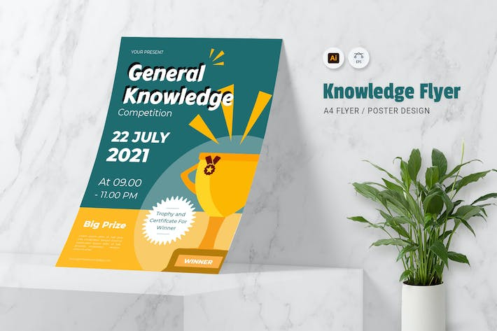 Thumbnail for Knowledge Competition Flyer