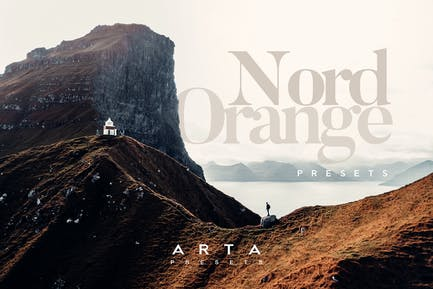 ARTA Nord Orance Presets For Mobile and Desktop