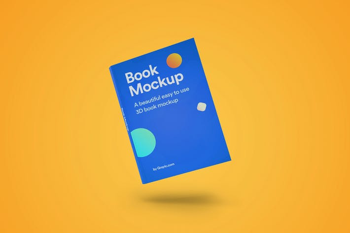 Thumbnail for 3D Book Mockup 04