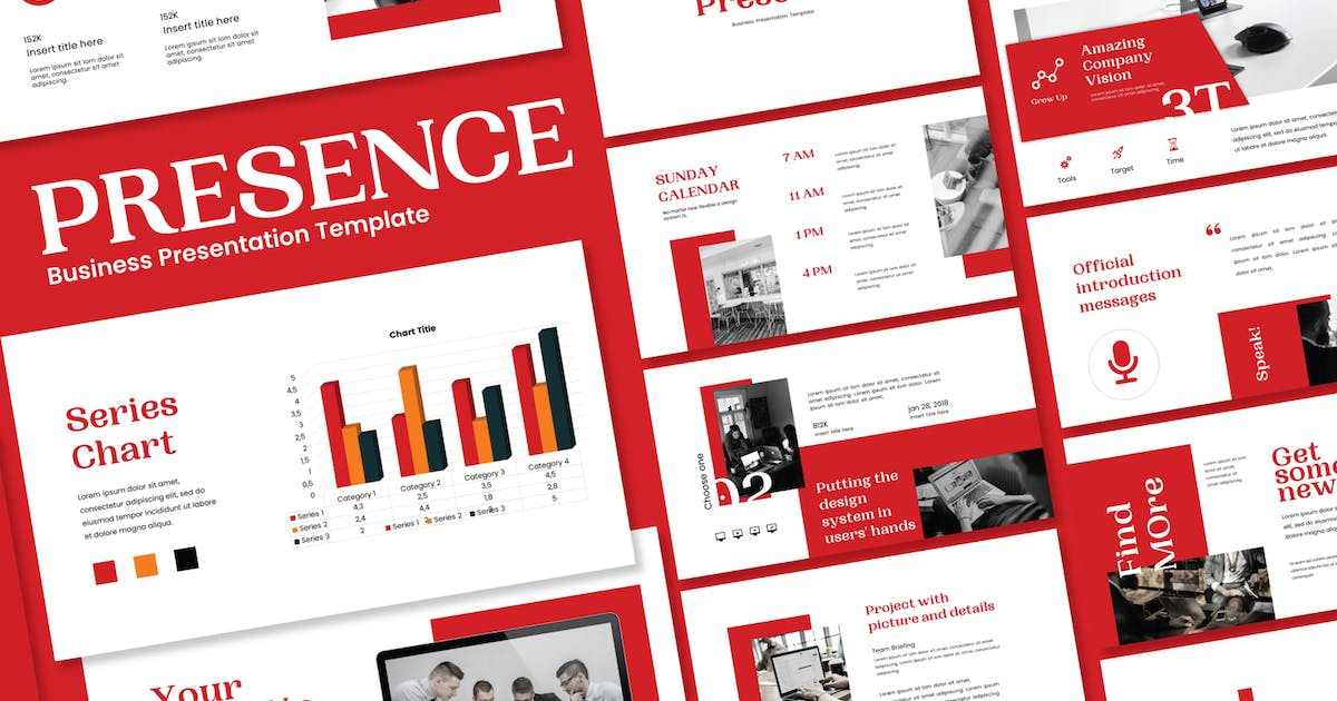 Download Presence - Powerpoint Template by axelartstudio