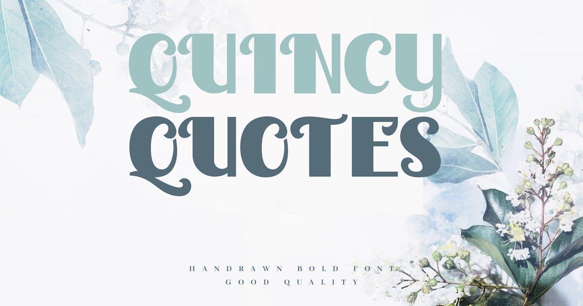 Download Quincy Quotes - Decorative Valentine Sans by naulicrea