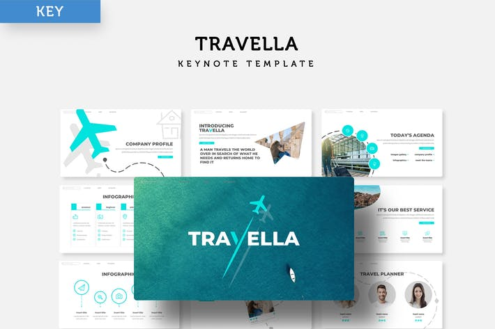 Thumbnail for Travella - Keynote Template