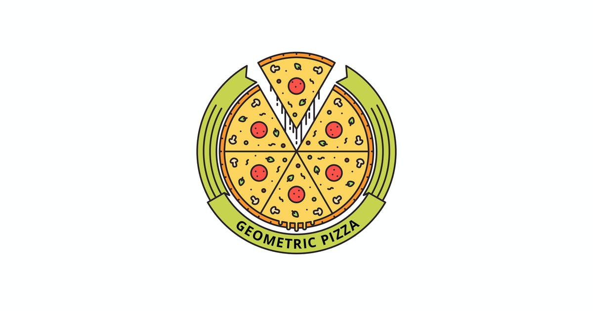 Download Geometric Pizza by lastspark
