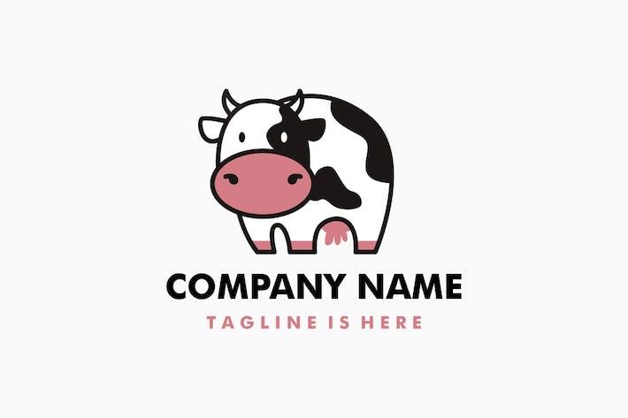 Thumbnail for Cute Cow Logo