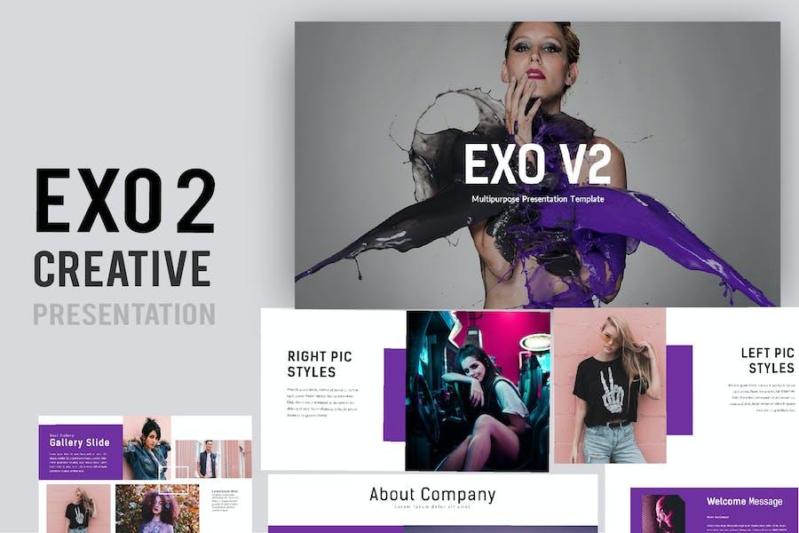 Exo 2 Творческие слайды Google