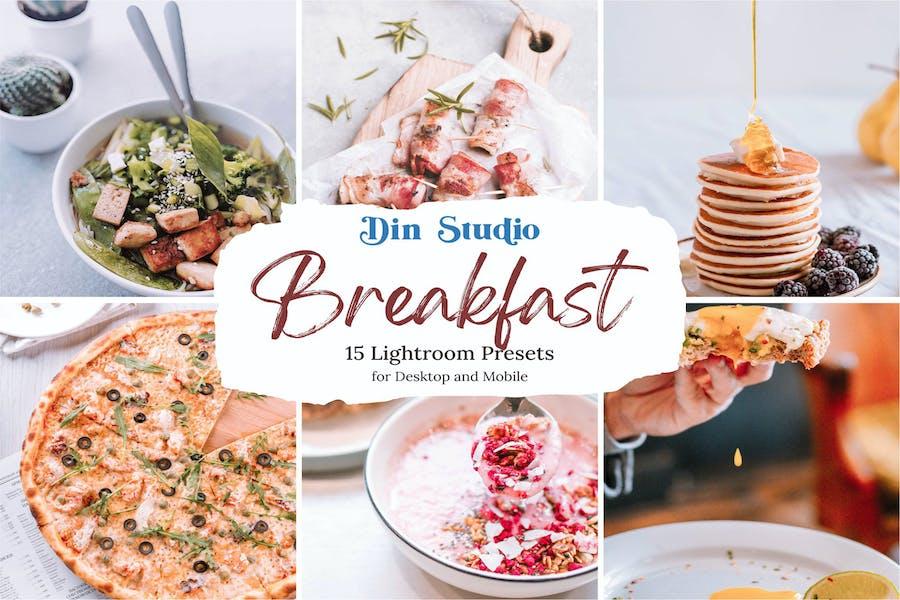 Пресеты Lightroom для завтрака