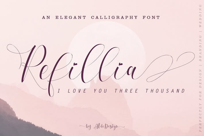 Thumbnail for Refillia Calligraphy