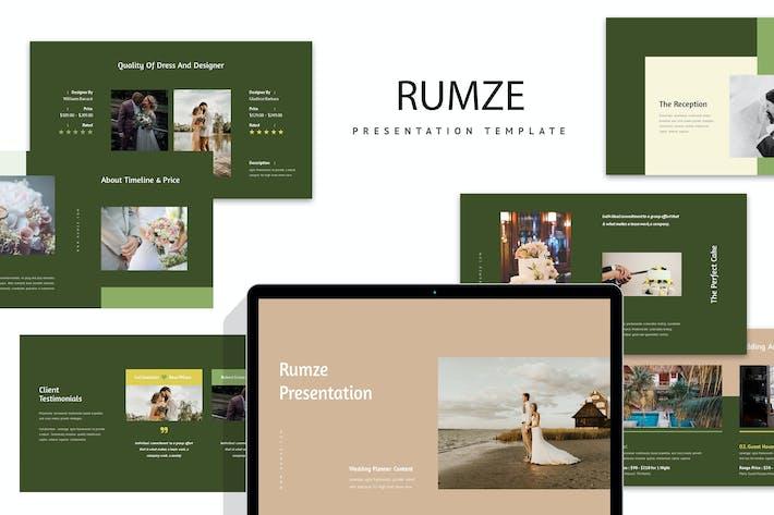 Thumbnail for Румзе: СвадебKeynote
