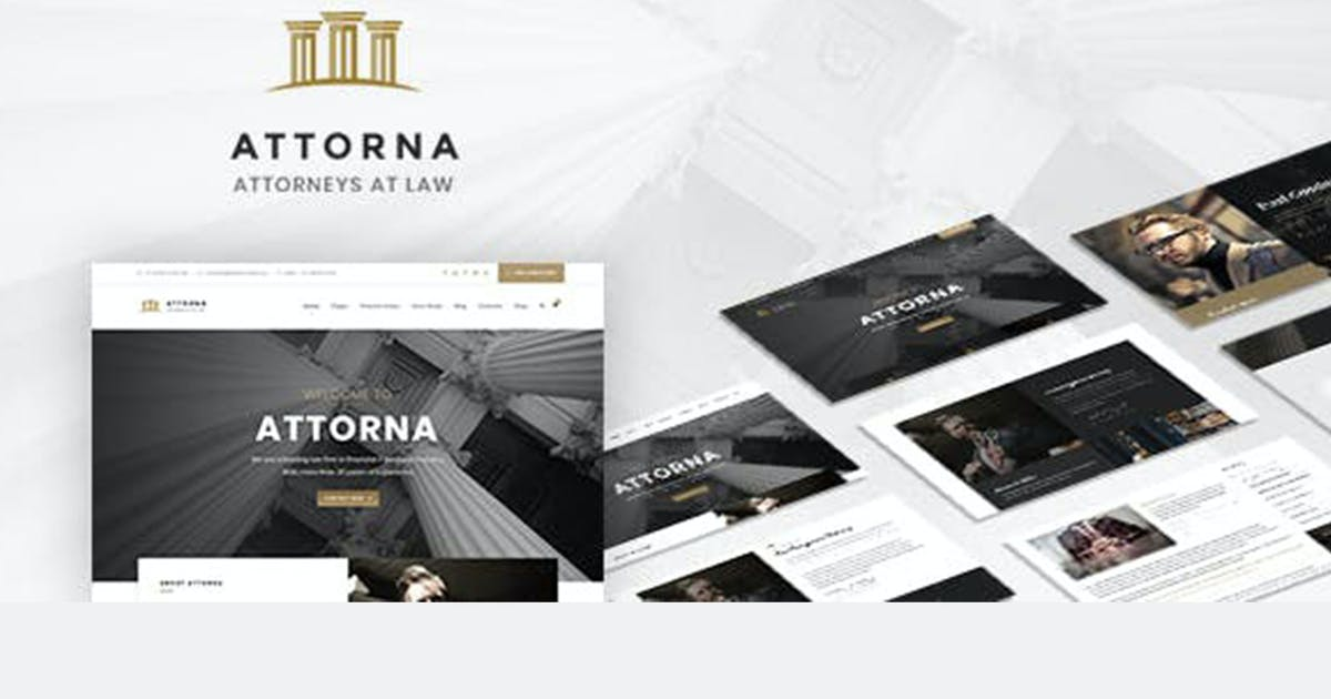 Download Attorna - Lawyer & Attorney HTML Template by max-themes