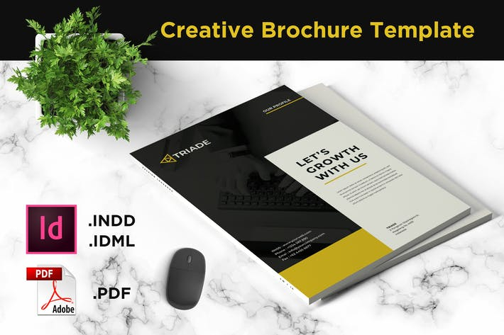 Thumbnail for Brochure Template - iWantemp
