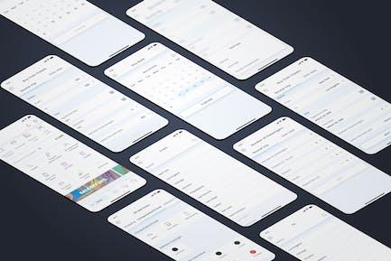 Train Tickets - Wallet Mobile UI - FP