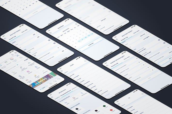 Thumbnail for Train Tickets - Wallet Mobile UI - FP