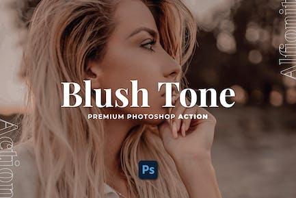 Blush Tone Photoshop Action