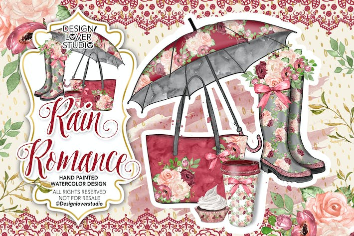 Thumbnail for Rain Romance design