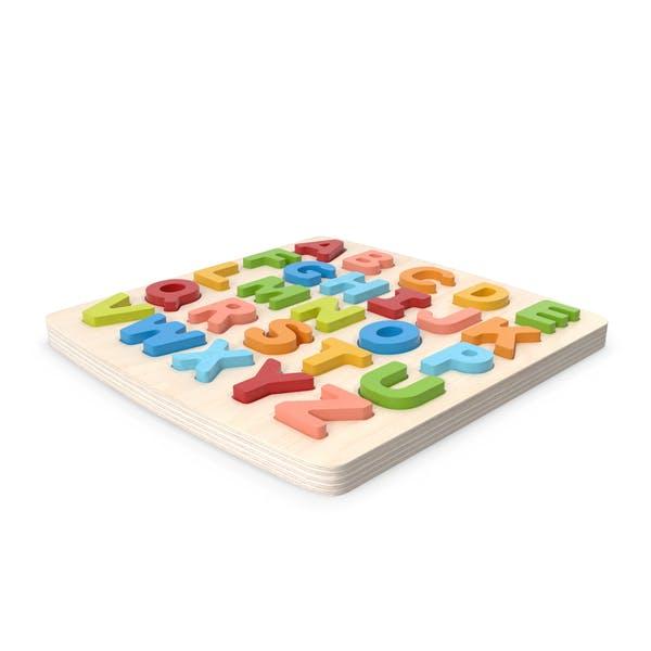 Wood Puzzle Letters