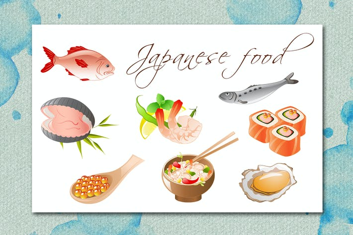 Cover Image For Seafood Icons