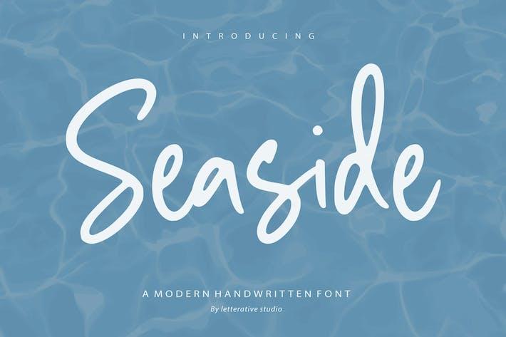 Seaside Fuente de escritura a mano YH