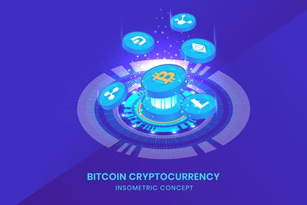 Cryptocurrency - Insometric Vector
