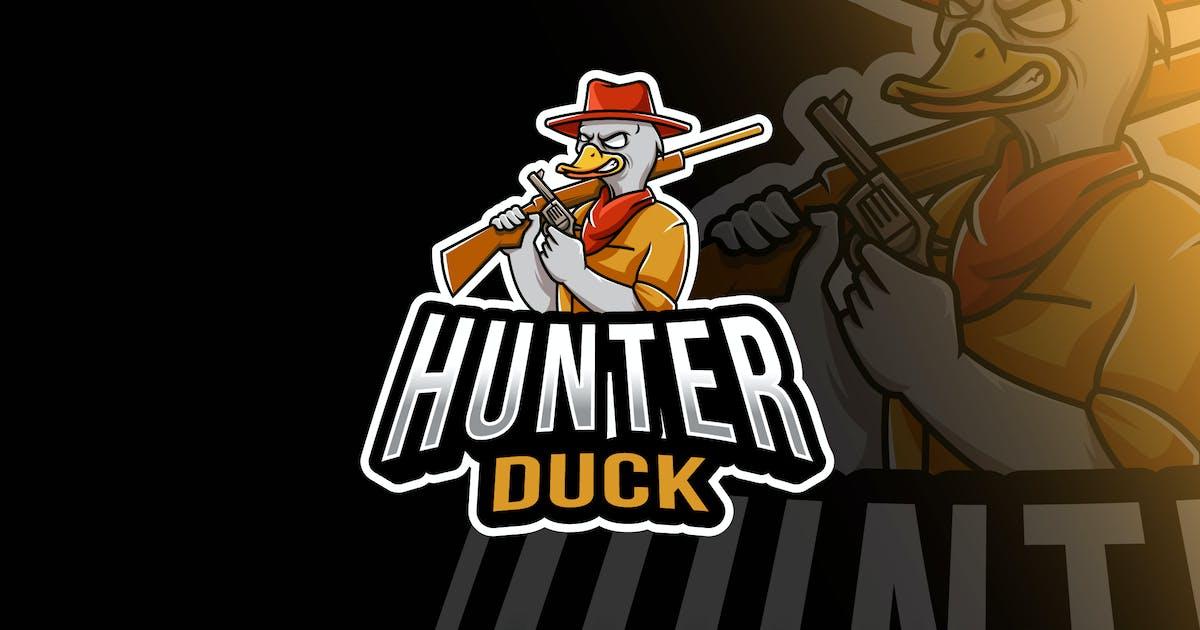 Download Hunter Duck Esport Logo Template by IanMikraz