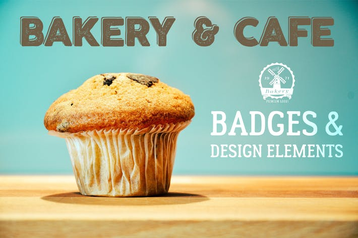 Thumbnail for Bakery Logos & Badges