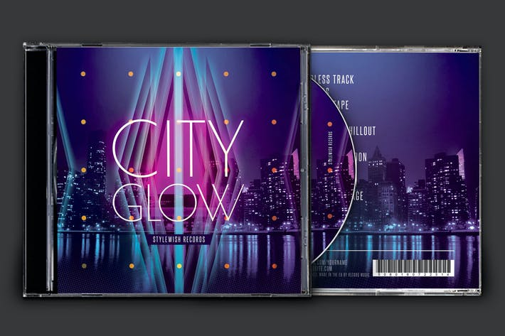 Thumbnail for City Glow CD Cover Artwork