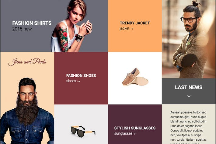 Cover Image For Prana - Fashion Clothes HTML