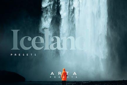 ARTA Iceland Presets For Mobile and Desktop