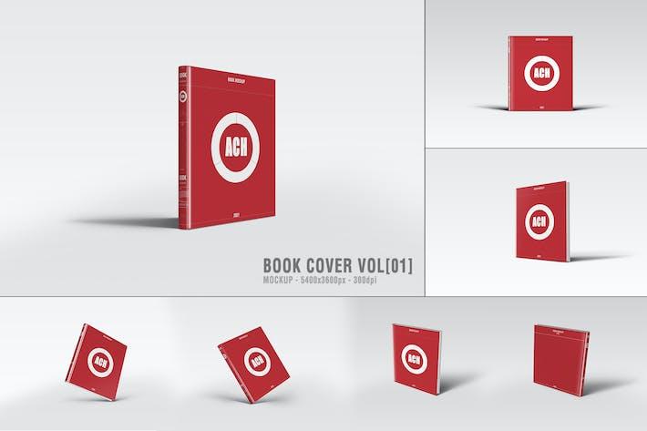 BOOK COVER MOCKUP [VOL1]