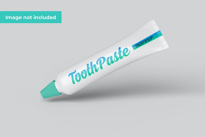 Toothpaste Mockup Template