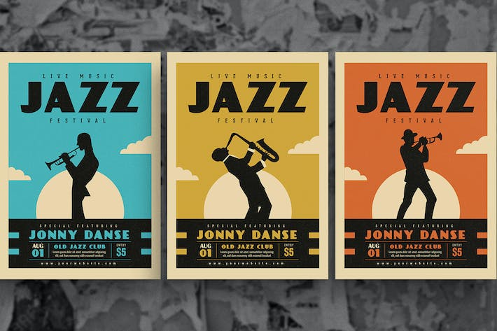Thumbnail for Old Jazz Music Flyer