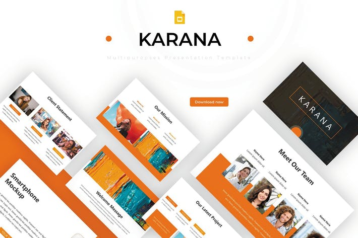 Cover Image For Karana - Google Slides Template